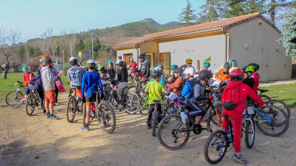 vc saillans Ecole de vélo