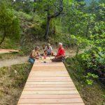PONT DE BABROU : un ouvrage pour le partage de l'espace naturel.