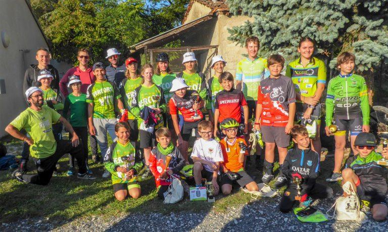 Read more about the article TDJV SAILLANS, l'école de vélo à la fête.